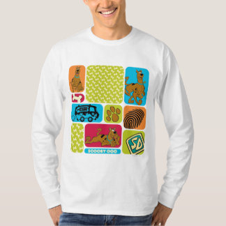 Scooby-Dooのミステリーパターン Tシャツ