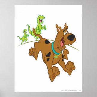 Scooby Dooの恐竜Chasing2 ポスター