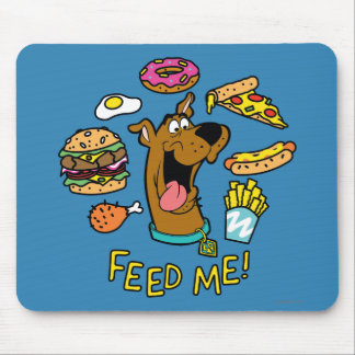 Scooby-Dooは私を食べ物を与えます! マウスパッド
