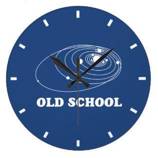 Scoolの古い太陽系 ラージ壁時計