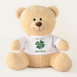 Scotch Irish Green Plaid Shamrock テディベア