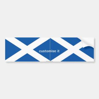 Scotlahdセント・アンドリュースのsaltireの旗のバンパーステッカー バンパーステッカー
