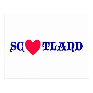 Scotland love ポストカード