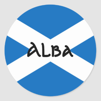 Scottish Flag Sticker