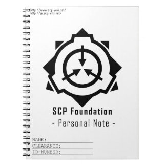 SCP Foundation notepad: symple-W[SCP Foundation] ノートブック