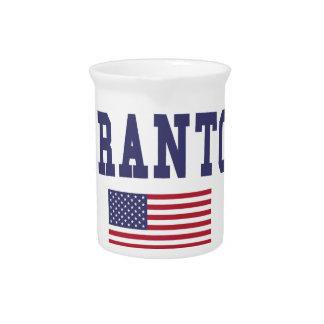 Scranton米国の旗 ピッチャー