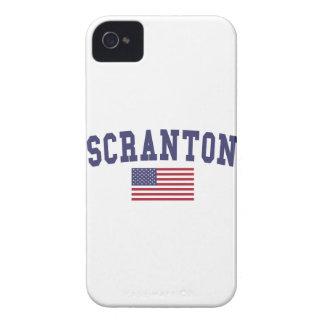 Scranton米国の旗 Case-Mate iPhone 4 ケース
