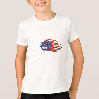 Screaminは野球絶食します Tシャツ