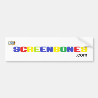 Screenbones.com バンパーステッカー