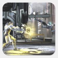 Screenshot: サイボーグ対Nightwing 2
