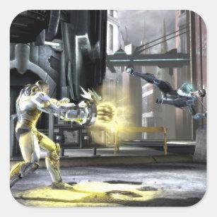 Screenshot: サイボーグ対Nightwing 2 スクエアシール