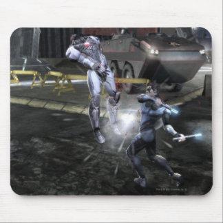 Screenshot: サイボーグ対Nightwing 3 マウスパッド