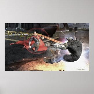Screenshot: スーパーマン対バットマン2 ポスター