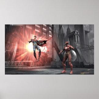Screenshot: スーパーマン対フラッシュ ポスター