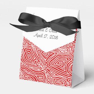 Scribbleprintsの赤パターン フェイバーボックス