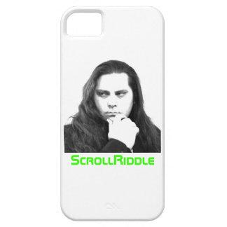 ScrollRiddle Iphone 5の場合-顔 iPhone SE/5/5s ケース