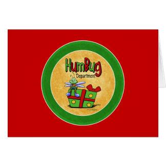Scroogeの休日- Bahの詐欺カード グリーティングカード