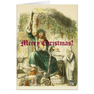 Scroogeの訪問者 グリーティングカード
