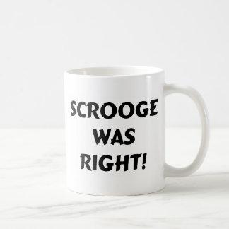 Scroogeは右でした コーヒーマグカップ