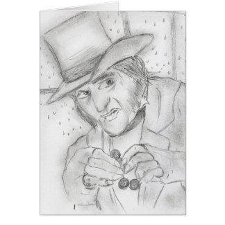 Scrooge-1 グリーティングカード