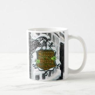 Scrooge&MarleySignScene コーヒーマグカップ