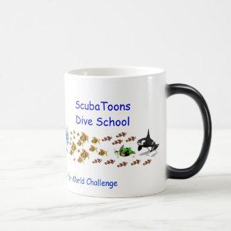 ScubaToonsの変形させるマグ マジックマグカップ