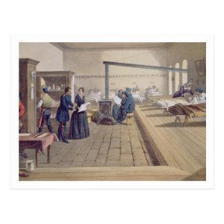 ScutariのフィレンツェNightingalの詳細の病院 ポストカード