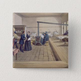 ScutariのフィレンツェNightingalの詳細の病院 5.1cm 正方形バッジ