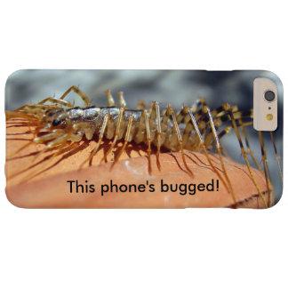 ScutigeraのColeoptrataによって煩わせられるiPhoneの場合 Barely There iPhone 6 Plus ケース