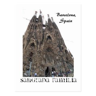SDC10239、Sangrada Familia、バルセロナ、スペイン ポストカード