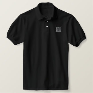 SDG~ Soli Deoグロリア 刺繍入りポロシャツ