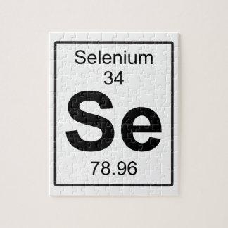Se -セレニウム ジグソーパズル