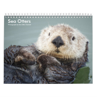 Sea Otter Channel Calendar #1 カレンダー