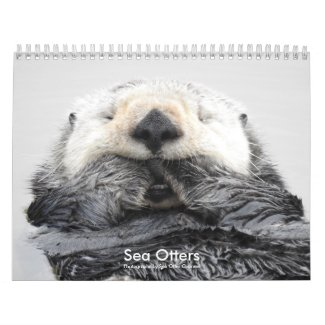Sea Otter Channel Calendar #2 カレンダー