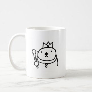 Sea Otter King & Queen コーヒーマグカップ