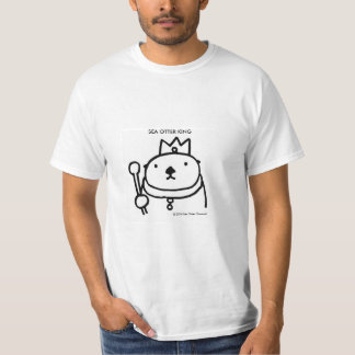 Sea Otter King Tシャツ