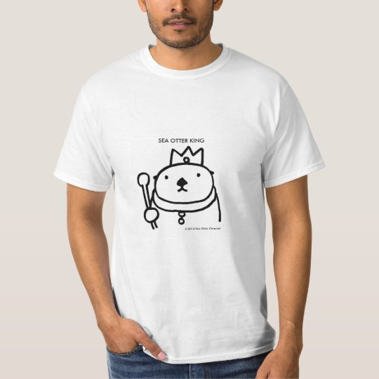 Sea Otter King Tシャツ