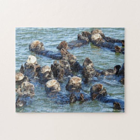 Sea Otter Raft ジグソーパズル