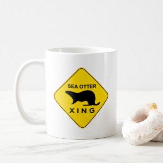 Sea Otter Xing コーヒーマグカップ