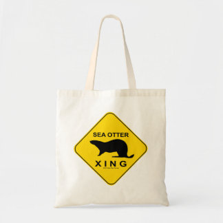 Sea Otter Xing トートバッグ