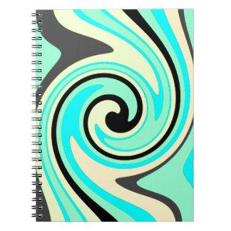 Seafoamの波 ノートブック