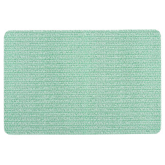 Seafoamの緑の織り方の網の一見 フロアマット