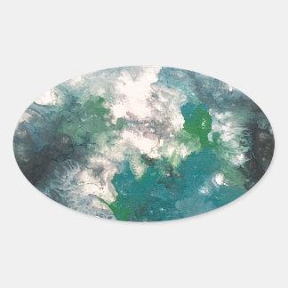 Seafoam 楕円形シール