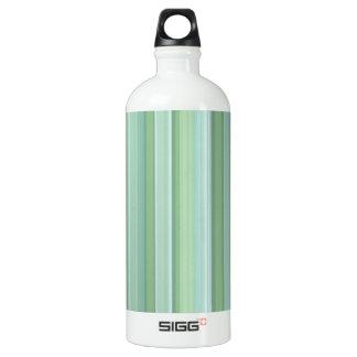 Seafoam、賢人、及び空色の縞模様 ウォーターボトル