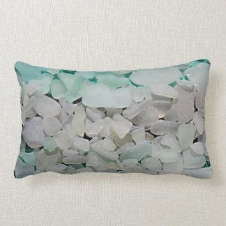 Seafoam Seaglassの枕 ランバークッション