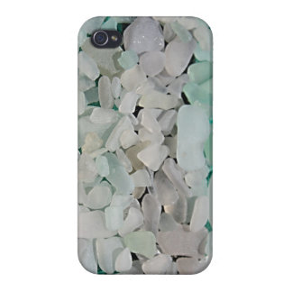 Seafoam SeaglassのiPhoneの場合 iPhone 4 カバー