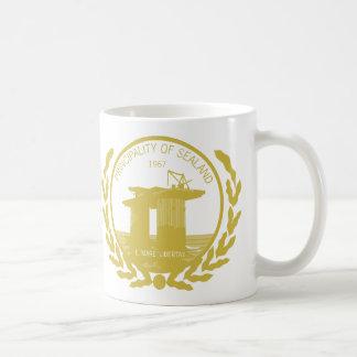 sealandのシールの頂上の公国 コーヒーマグカップ