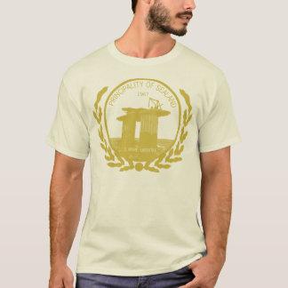 sealandのシールの頂上の公国 tシャツ