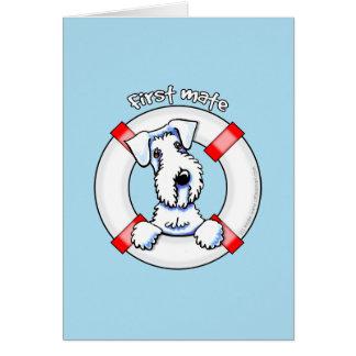 Sealyhamテリアの一等航海士 カード