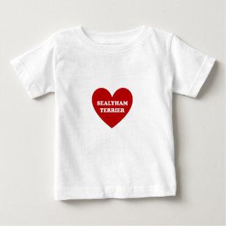Sealyhamテリア ベビーTシャツ